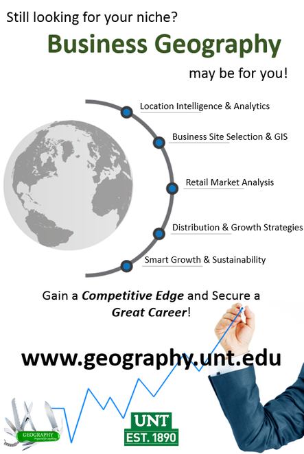 Should I get a masters degree in geography or business?